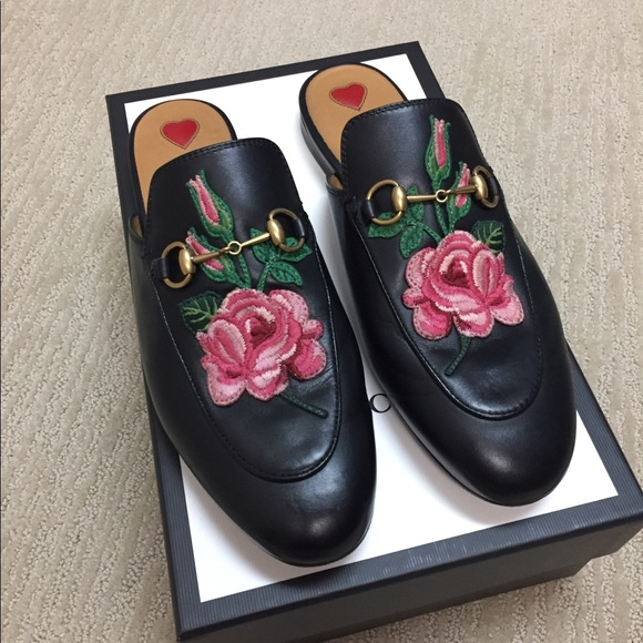 4d4fa6647c2 Gucci Shoes - Gucci Princetown leather slipper